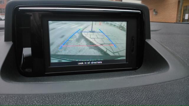 Test backkamera Renault Megane