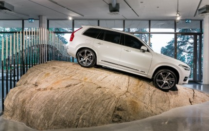 Volvo XC90 first