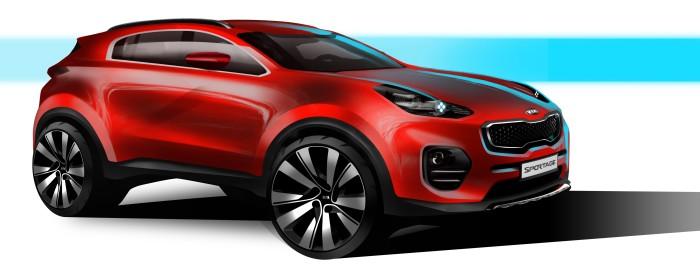 Kia Sportage Design