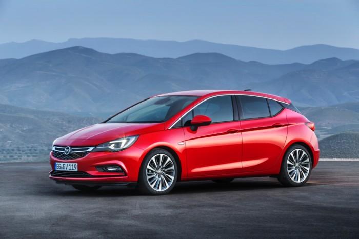 Opel Astra 2016 årets bil