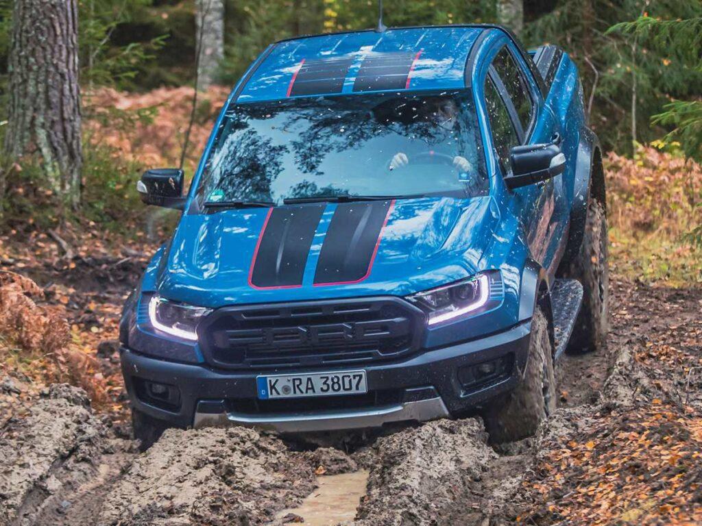 Ford Ranger Raptor offroad